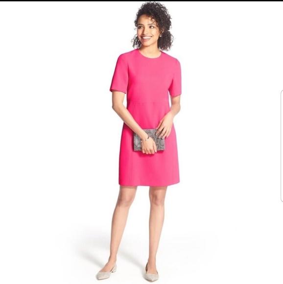 Eliza J Dresses & Skirts - Eliza J 2 Hot Pink Dress Sheath Pockets Pencil